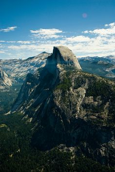 Half Dome, one of Yosemite National Park's most familiar sights