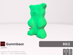 Waht will a Candy fair without Gummybears? Half the fun. So you find the Gummybears at 22769 ~ [bauwerk] prefilled with poses for your enjoyment.  All five colors (green, red, white, yellow and orange) of the Gummybears are waiting for you at Candy Fair.