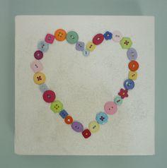 Heart Button Canvas