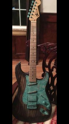 Charvel - Jake E. Lee's Charvel Patina Signature Jake E Lee, Jackson Guitars, San Dimas, Floyd Rose, Fender Stratocaster, Cool Guitar, Musical Instruments, Bass, Electric Guitars