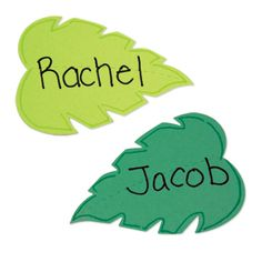 These leaves will come in super handy for all sorts of projects and crafts during your Journey Off The Map 2015 VBS this summer. The smaller of the two leaves are the perfect size for unique name tags for each child. Let's stay connected http://www.accucuteducation.com/Sign-up-for-E-mails-W3.aspx