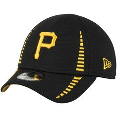 Pittsburgh Pirates New Era Toddler Speed 9FORTY Adjustable Hat - Black  Baseball 5e506fa74