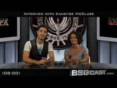 ▶ BSGcast: Interview with Kandyse McClure - YouTube