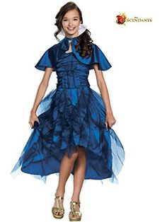 Disguise 88130K Evie Coronation Deluxe Costume, Medium (7-8) >>> Details can be found by clicking on the image.