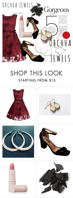 """""""Get Your Hoops on!"""" by merimaa997 ❤ liked on Polyvore featuring Honour and Lipstick Queen"""