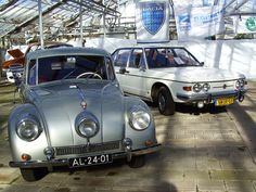 Tatra's at a Dutch East European classic car show.