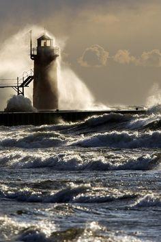 South Haven Lighthouse - Jonathon Gruenke