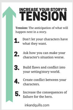 5 Ways to Increase Your Story's Tension - Ink and Quills
