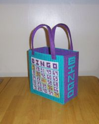 Crochet Pattern For Bingo Bag : crochet bingo bag pattern - Google Search Crochet Bags ...