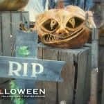 stolloween's page on how to make paper mache pumpkins.  Good tutorial.