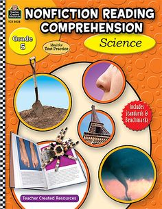 Nonfiction Reading Comprehension: Science, Grade 5 (TCR8028) « Products | Teacher Created Resources