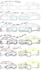499f3157646e how to draw cars step by step. Drawing ...