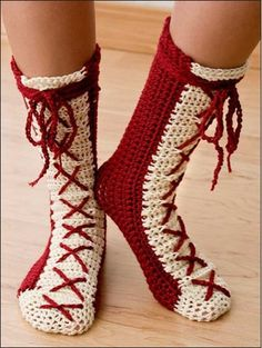 Picture of Hooked on Crochet! Slippers