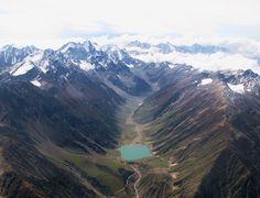 Route de Karakorum, frontière Chinoise/Pakistanaise