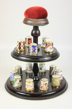 ROYAL CROWN DERBY COLLECTION OF 15 THIMBLES