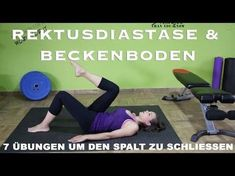 Get a grip on rectal diastasis - Beckenboden - health & fitness Pilates Workout, Fitness Workouts, Ballet Barre Workout, Barre Workout Video, Barre Exercises At Home, Cardio Barre, Home Workout Videos, 20 Minute Workout, Thigh Exercises