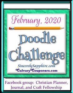 Doodle Challenge for February 2020 – Love | Sincerely, Sapphire