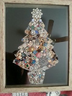 Costume jewelry tree.