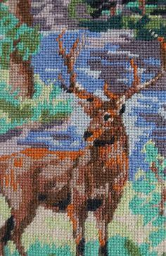 Français de tapisserie canevas-broderie-mur par Sansprix sur Etsy