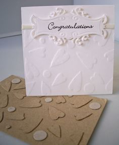 Link to making your own embossing folders#Repin By:Pinterest++ for iPad#