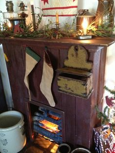 Country fireplace