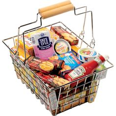 Shopping Basket With Groceries - Play kitchens and shops - Traditional Toys | Letterbox