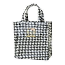 b52467b59f7d New Sanrio laminated tote bag S Houndstooth Hello Kitty Japan