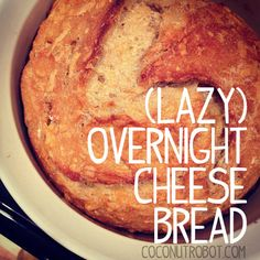 {lazy} overnight whole wheat Cheese bread