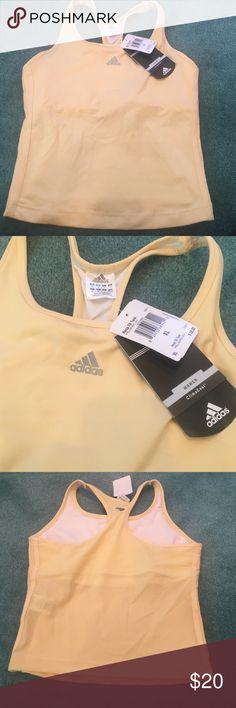 Baby Yellow Adidas Tank Size XL . Adidas Tops Tank Tops