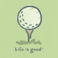 Women's Tee It Up Crusher Tee|Life is good