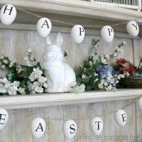 Easy Easter Garland