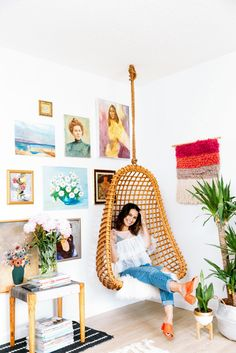 Cara Irwin Of Goldalamode Home Tour Portrait
