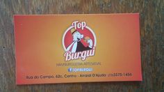 Venham conferir o nosso cartão fidelidade. Você preenche o cartão com apenas 6 carimbos e ganha um sanduíche !!
