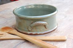 Hand-Thrown Stoneware Casserole @jessica king mine kinda looks similar to this :-)