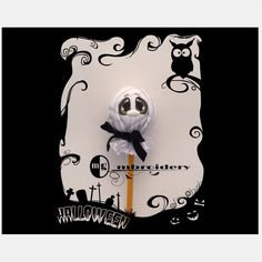 Halloween Pencil topper  Mummy  Digital Download   5x5 by OmgMbroidery on Etsy
