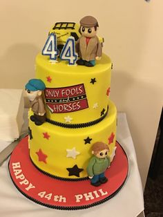 I had this made for my dads birthday! Only Fools and Horses cake. 18th Birthday Cake, Dad Birthday, Birthday Ideas, Paul Cakes, Only Fools And Horses, Caron Cakes, Horse Cake, Big Cakes, Horse Print