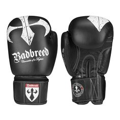 BADBREED SIGNATURE EDITION BOXING GLOVES - Foam injected, pre-curved, high-grade buffalo leather boxing gloves.