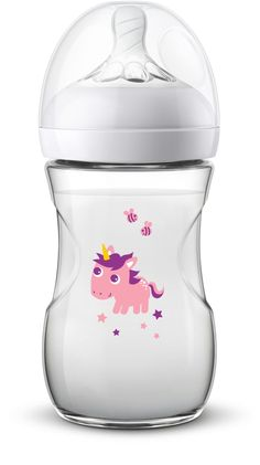 Philips AVENT Natural Baby Bottle with Motif Einhorn - Ideal for collecting and giving away! Printed with colourful motifs, the Philips AVENT Natural baby bottle is a cheerful eye-catcher that will delight ev. Baby Dolls For Kids, Baby Girl Toys, Baby Kids Clothes, Avent Baby Products, Best Baby Bottles, Baby Girl Dress Patterns, Baby Doll Nursery, Baby Doll Accessories, Baby Hands