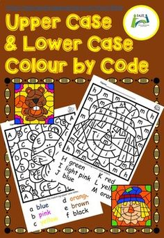 This colour coded resource is a relaxing fun way for students to learn / revise upper case and lower case letters. It is also useful for learning to read colour words. The colouring within the lines will help to improve fine motor skills. Worksheets 1 - 8 have support with reading by having the colour