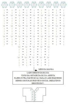 BLUSAS MANGA CURTA (CROCHÊ) - Janete Brazil - Picasa Web Albums