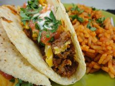 Eat Cake For Dinner: My Favorite Ground Beef Tacos From Paula Deen