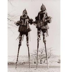 walkers are an important part of a dance ceremony in Dogon country. Masks are a particularly important part of Dogon dances, with over eighty varieties in use. Cowrie shells were used as hard currency in Mali until the late 19th century