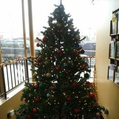 7 ft pre lit christmas donated to youth outreach services - Christmas Tree Walmart