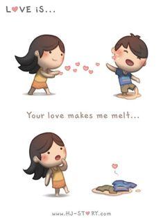 HJ-Story :: Your love makes me melt...! | Tapastic Comics - image 1