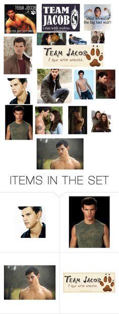 """""""Team Jacob"""" by author-of-isabelle-lupin ❤ liked on Polyvore featuring art"""