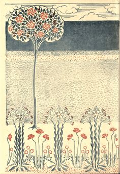 An illustration by Walter Crane from 'Floral Fantasy - In an Old English Garden'. Originally Published in 1899. http://www.amazon.com/gp/product/1443797278/ref=as_li_tl?ie=UTF8&camp=1789&creative=9325&creativeASIN=1443797278&linkCode=as2&tag=reaboo09-20&linkId=WBWSFFRXZXJP3FBT