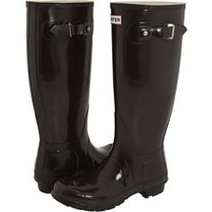 Hunter rain boots, the Queen wears them and I would jump puddles with them