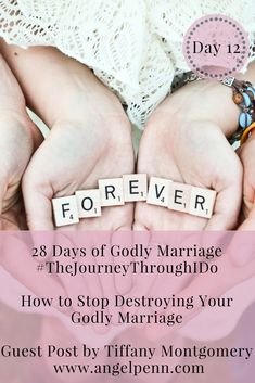 In a culture that has an over divorce rate we need to change the way we do Marriage. God has a way to do marriage and is so much better and beautiful. Let's dig in to find out how to change everything so we have a godly marriage that will last!