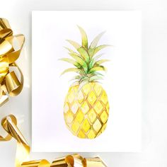 Obsessed with Pineapple by Lindzi Shanks on Etsy