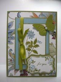 Peanuts and Peppers Papercrafting: Stampin' Up Blessed Mother's Day Card